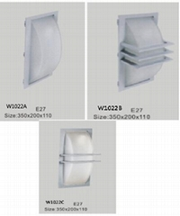LED outdoor wall light with glass diffuser IP54 hight quality