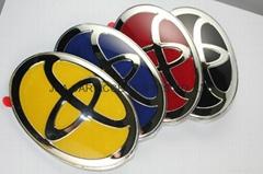 TOYOTA logo car emblem