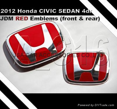 Genuine Honda car emblem for tuning or decoration 1