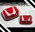 Genuine Honda car emblem for tuning or