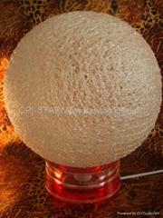 光纖繞絲圓球燈