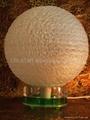 光纖繞絲圓球燈 2