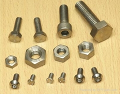 stud bolt and hex nuts