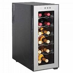 Single Zone12 Bottle Wine CoolerJC-33C