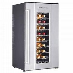 Single Zone 60 Bottle Electronic Wine CoolerJC-150A