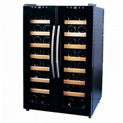 Dual Zone 32 Bottle Wine Cooler JC-100A