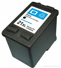 remanufactured ink cartridge For HP C9351AN (#21)