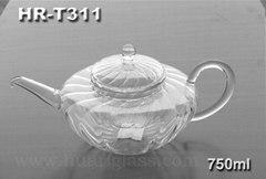 GLASS TEA POT HR-T311 750ML
