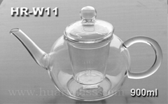 GLASS TEA POT HR-W11 900ML