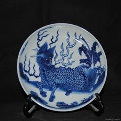 手绘青花瓷瓷盘