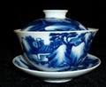 景德鎮陶瓷手繪茶蓋碗