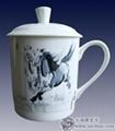 景德鎮陶瓷紀念茶杯 2