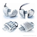 Diamond usb flash drive