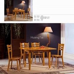 實木餐桌伸縮餐台
