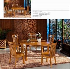 實木餐桌折疊餐台