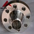 ASTM B381 Standard Gr2 Titanium Flange ANSI B16.5 3