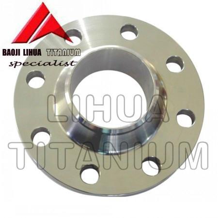 ASTM B381 Standard Gr2 Titanium Flange ANSI B16.5 5
