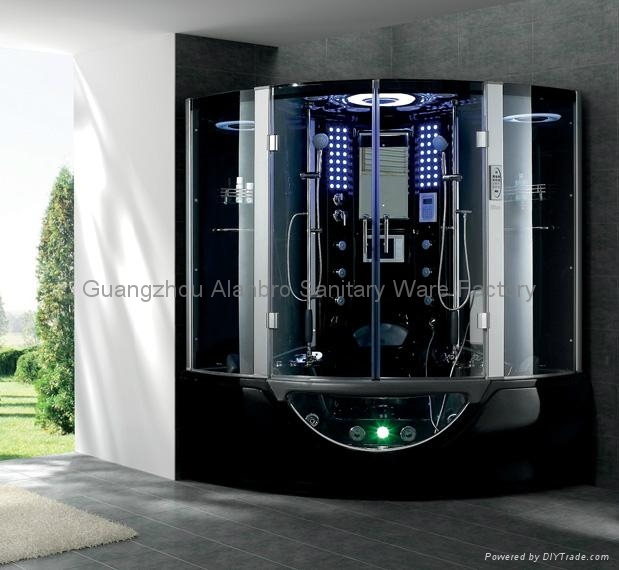 Luxury Spas Combo Steam Shower And Sauna Room