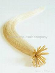 keratin human hair I tip stick hair extension