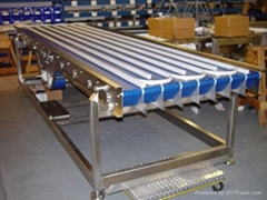 All the way into two way out storage conveyor