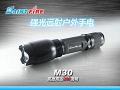 正品 美國CREE LED強光戶外手電筒 高檔禮品首選