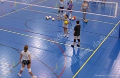 interlocking sports court volleyball flooring