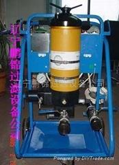 高效油液過濾車及濾芯