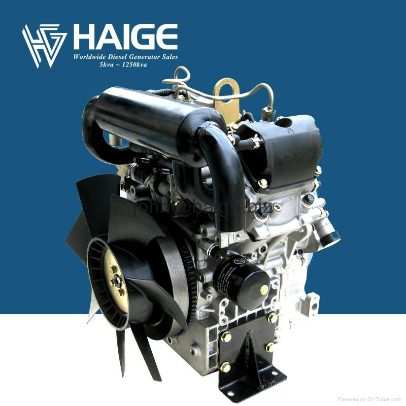 20hp Water Cooled V-twin 2 Cylinder Diesel Engine