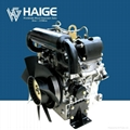 20HP water cooled V-twin 2 cylinder diesel engine 1