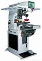 雙色推送器油盅移印機