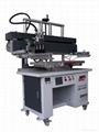 Flat screen printing machin