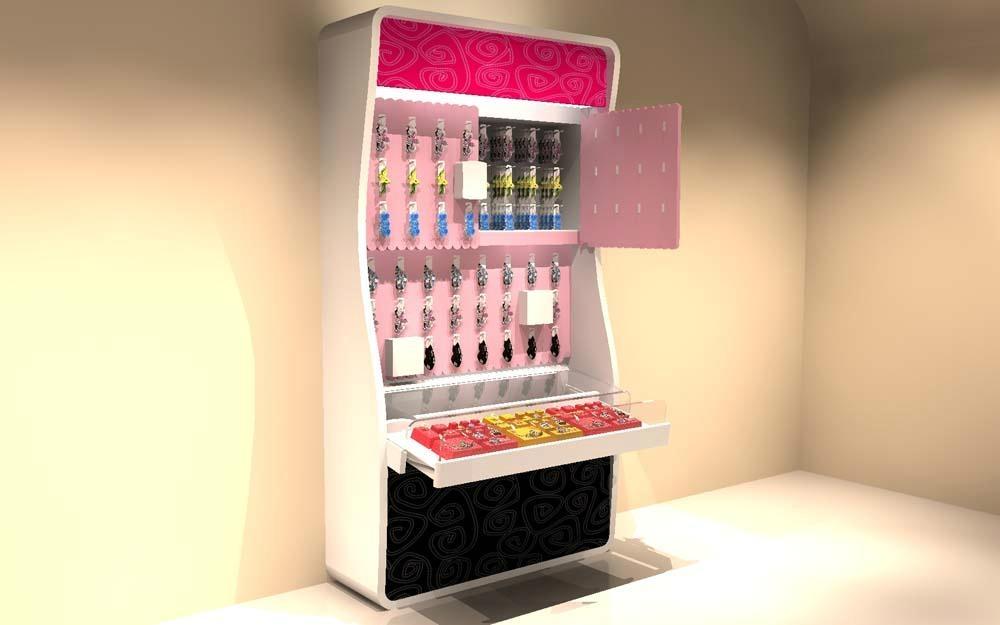 時尚化妝品展櫃 1