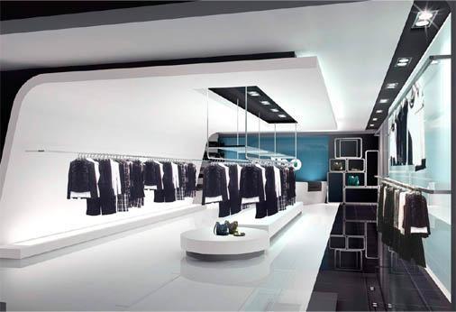 經典服裝展示櫃 5