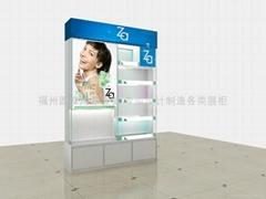 福州化妆品展柜设计
