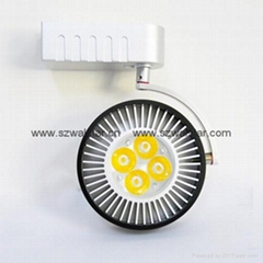 4*1W LED track light beautiful lamp
