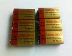 9V麦克风万用表聚合物锂电池