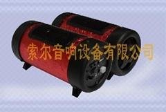 4寸红蝴蝶插卡低音炮