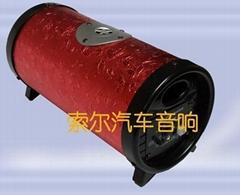 5寸红蝴蝶高音插卡低音炮