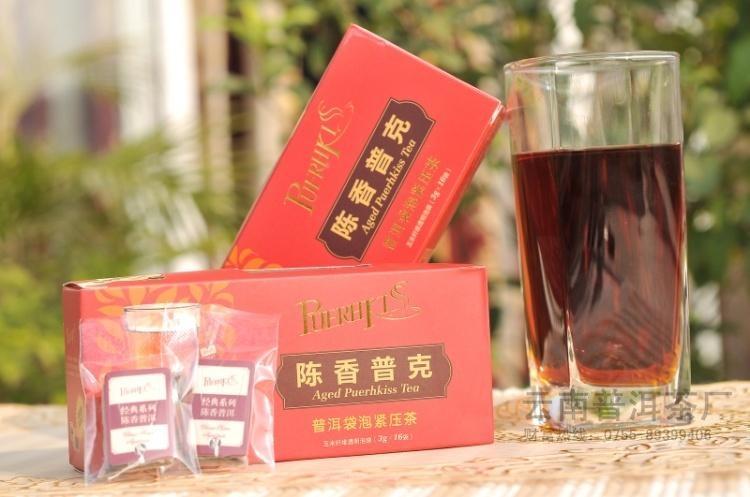 茶葉批發陳香普克袋泡降血脂保健茶 1