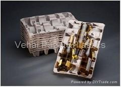 Molded Pulp Wine Tray
