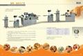 Crisp-cake bread processing line