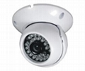 Plastic Dome Camera with 360 degrees