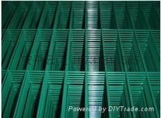 一英吋PVC浸塑電焊網片