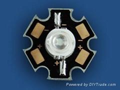 供应1W大功率LED紫外线   紫光LED