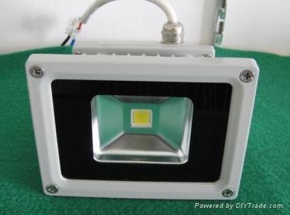 供应10W   LED大功率投光灯灯具 1