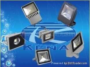 供应120W大功率LED投光灯灯具 1