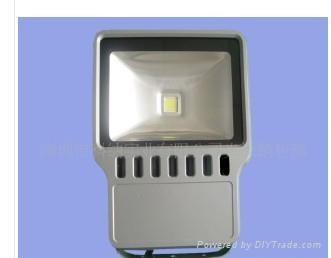 供应150W大功率LED泛光灯灯具 1