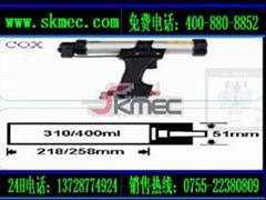 2011新款經典版硬筒裝氣動英國COX壓膠槍