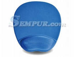 promotional gift advanced memory foam wrist rest mouse pad