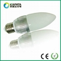 3W E27 led candle bulb lamp